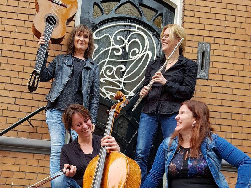't SPEELTUYGH gitaarspecialisten presenteert: Het Lais Kwartet!