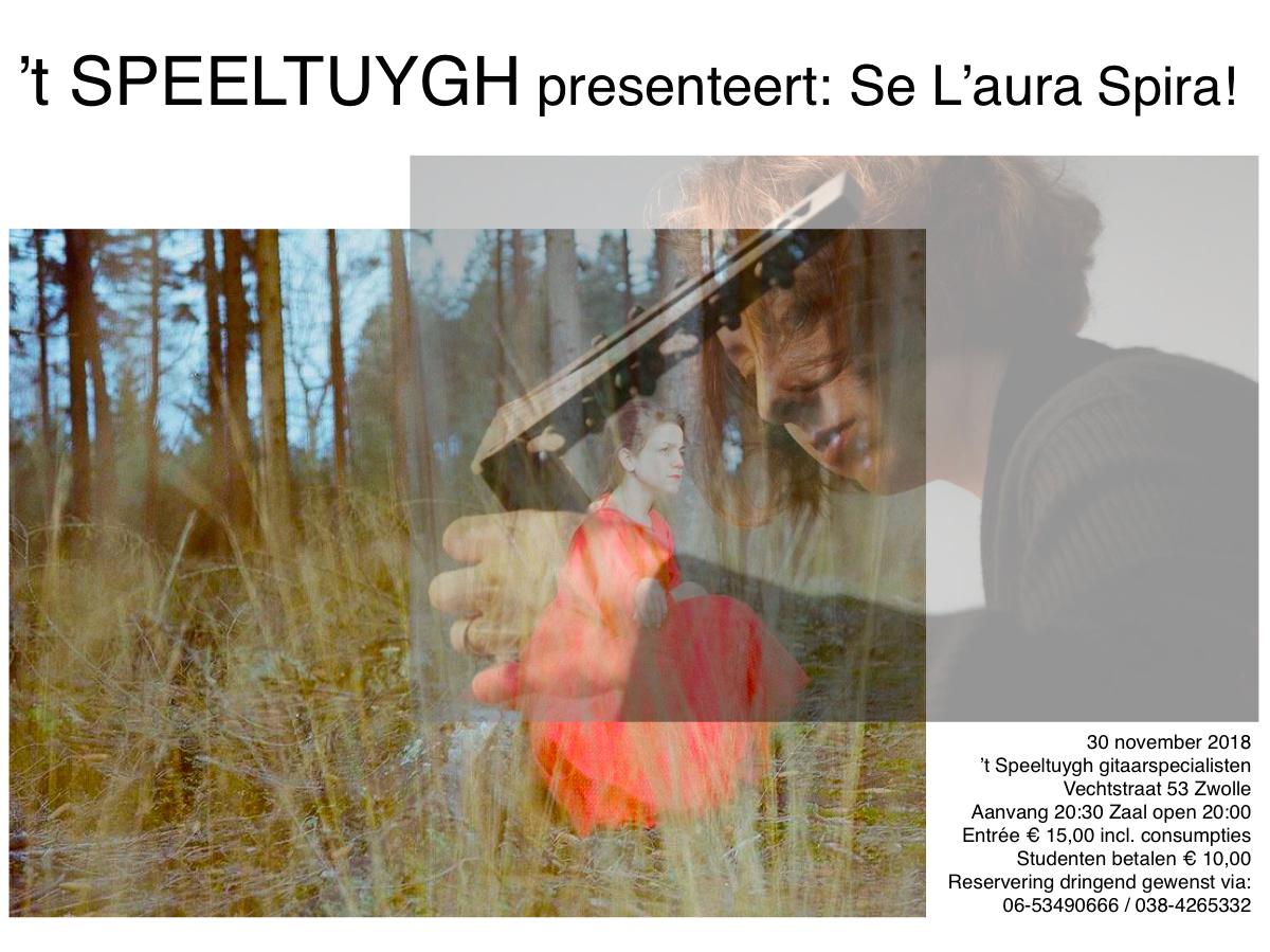 't Speeltuygh presenteert: Se l'Aura Spira